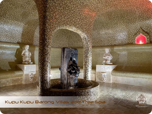 Kupu Kupu Barong Resort and Tree Spa Steam Room