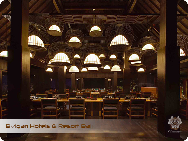 Bulgari Hotels & Resort Bali Sangkar Restaurant