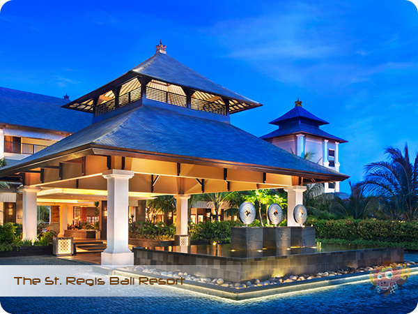 The St Regis Bali Resort Porte Cochere at Dusk.jpg
