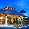 The St Regis Bali Resort Porte Cochere at Dusk.jpg