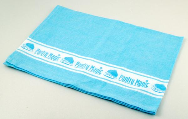 PM logo餐巾/藍色50x70cm
