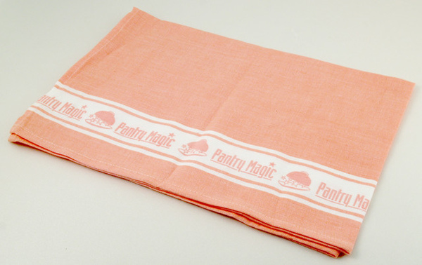 PM logo餐巾/粉紅色50x70cm