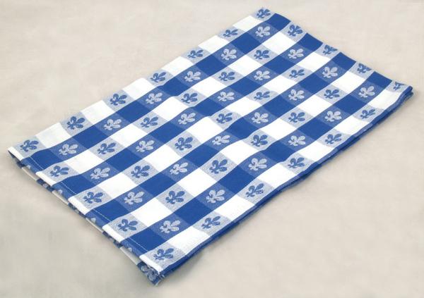 桌布50*70CM/百合藍色
