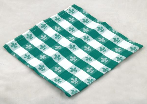 """20""""餐巾四入一組/百合綠色"""