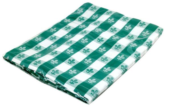 "52x72""方桌布/百合綠色"