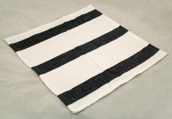 黑白條紋碗盤拭布35*35CM/3入一組