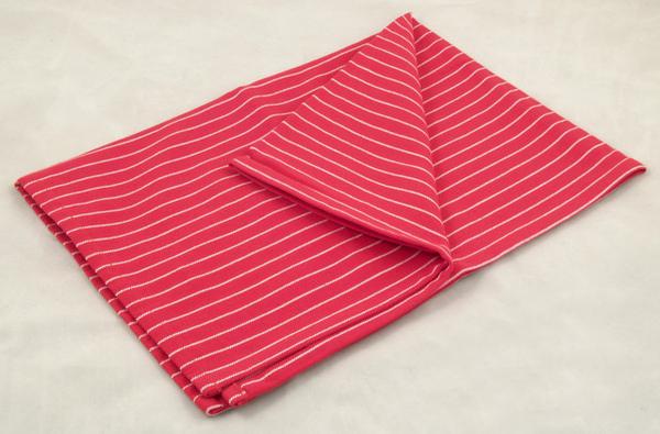 餐巾50*70cm/紅底白條紋
