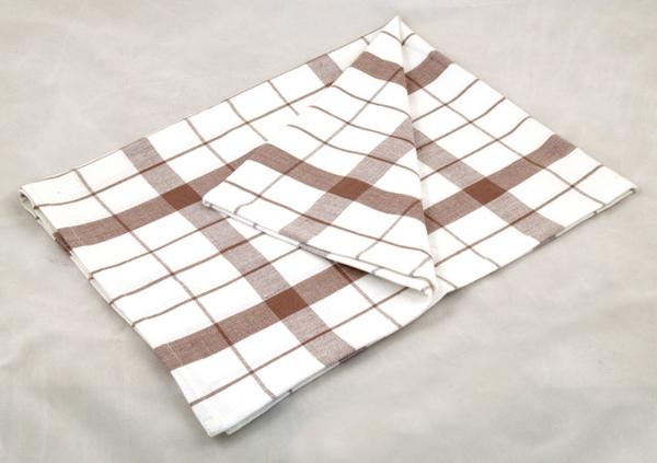 淺棕色條紋餐巾50*70CM