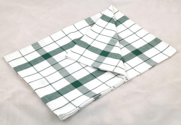 綠色條紋餐巾50*70CM