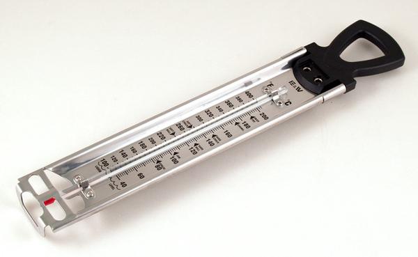 E&W油炸/糖玻璃溫度計
