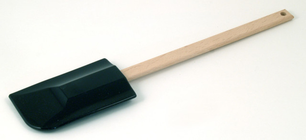 黑色矽膠木柄刮刀297mm