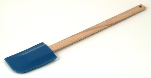 藍色矽膠木柄刮刀295mm