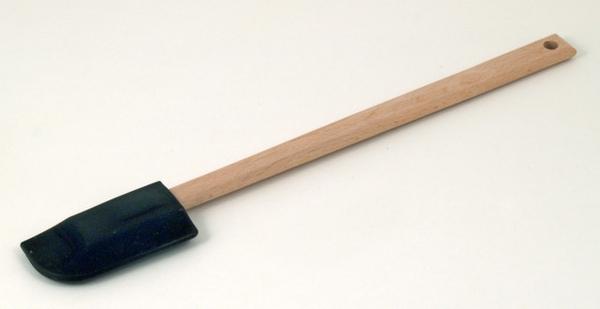 黑色矽膠木柄刮刀270mm