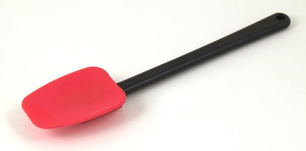 260mm 紅色矽膠刮刀塑膠把手