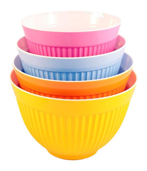 四色沙拉拌碗組四入