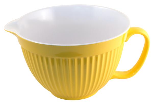 4公升黃色沙拉拌碗