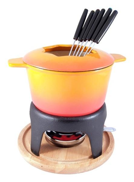 16cm生鐵搪瓷巧克力鍋