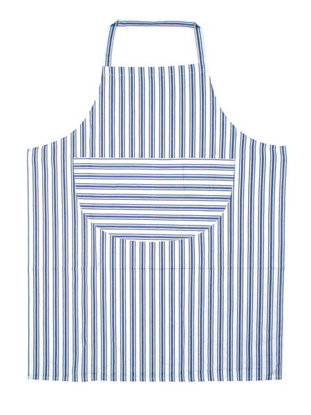 圍裙藍色條紋