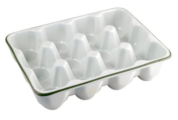 陶瓷煮蛋盤12入