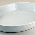 PM白色31cm橢圓陶瓷烤盤