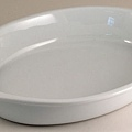PM白色35cm橢圓陶瓷烤盤