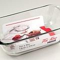 玻璃烤盤1.5L 14x23 cm