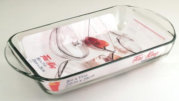 玻璃烤盤2L 20x28 cm