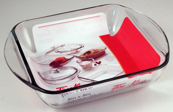 玻璃烤盤2L 20x20cm