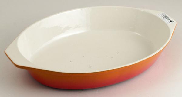 25 cm 1公升橢圓形鑄鐵盤