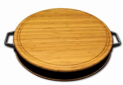 長56寬30.5高5公分,不鏽鋼把手竹製粘板