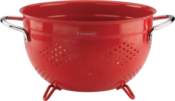 Typhoon24cm紅色濾水器