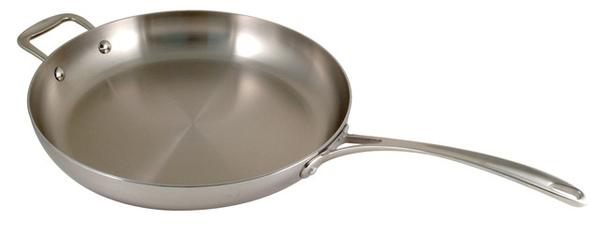 30公分三層不鏽鋼平底鍋