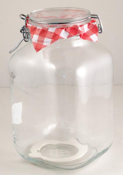 義大利3公升玻璃保存罐