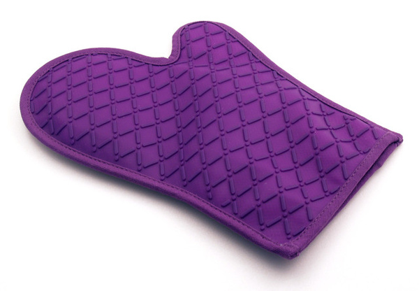 紫色矽膠隔熱手套