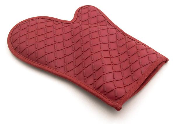 紅色矽膠隔熱手套