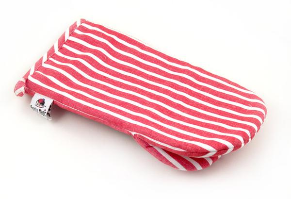 印度紅線條日式隔熱手套
