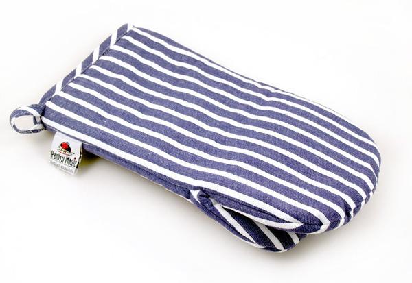 印度藍線條日式隔熱手套