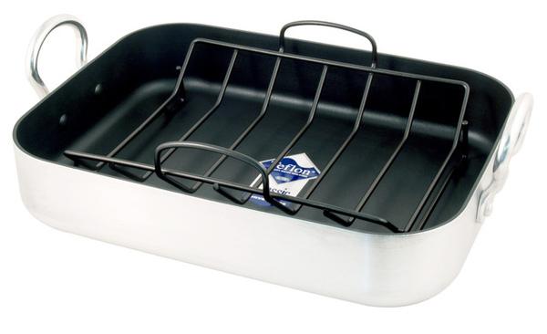 40x30公分 鋁製烤盤連架