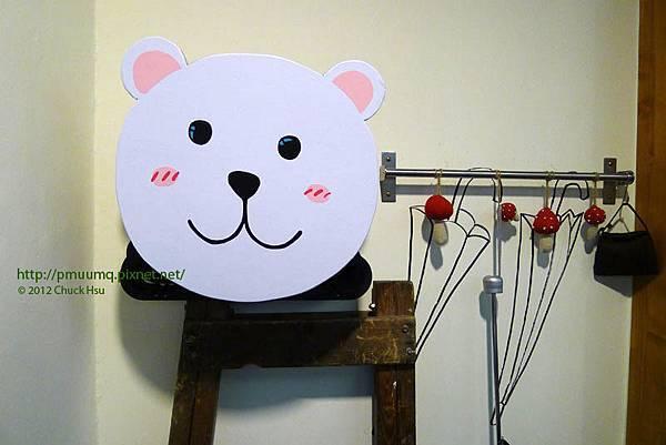 進門玄關小香菇幫你趴雨傘(Meet Bear 覓熊咖啡)