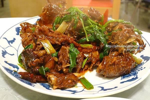 醬炒鴨(宋廚菜館)