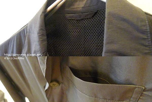 便利旅行的夾克 150公克的機能性 感覺好輕薄(物的八分目設計展)