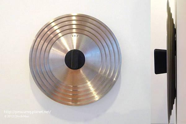 通用五個尺寸的鍋蓋 所謂通用的智慧(物的八分目設計展)