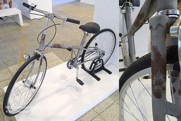 無塗裝自行車 可玩味的古樸良品(物的八分目設計展)