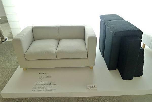 簡約扶手沙發 DIY組裝式沙發(物的八分目設計展)_046
