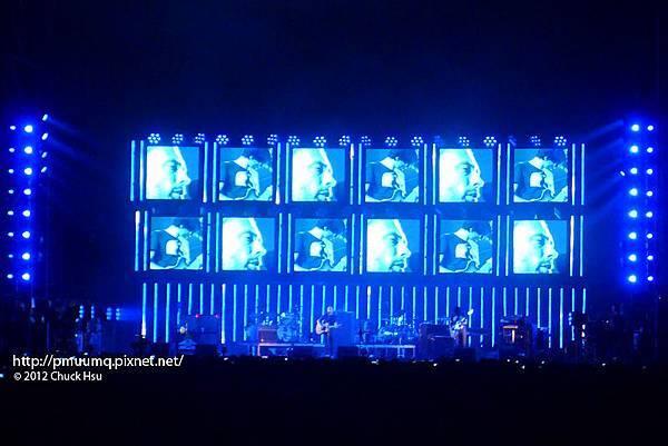 電台司令 2012世界巡迴台北演唱會 Radiohead 2012 Live Concert In Taipei
