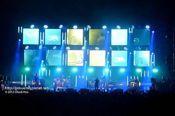 喜歡這個藍綠黃(Radiohead電台司令2012台北演唱會)