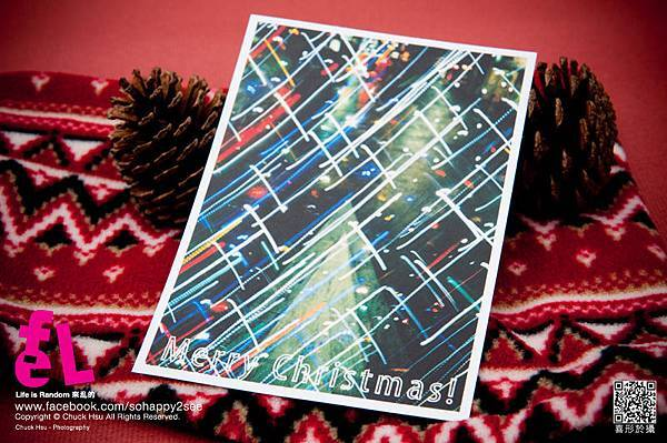 聖誕明信片『聖誕夜繽紛 Analogue Tree』 LOMO LC-A 重曝的底片作品 無PS! 限量發行~