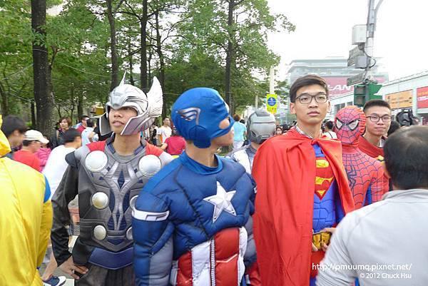 保衛地球的超人們