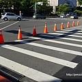 路障排排站