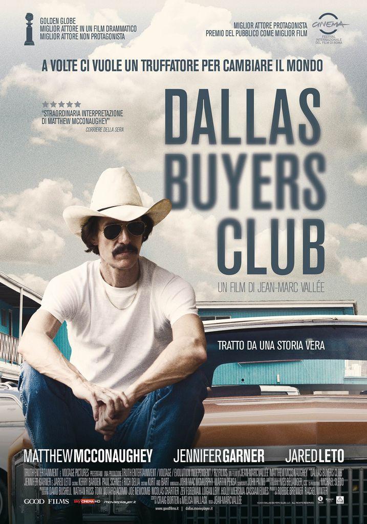 《藥命俱樂部Dallas Buyers Club》最佳男配角、最佳化妝